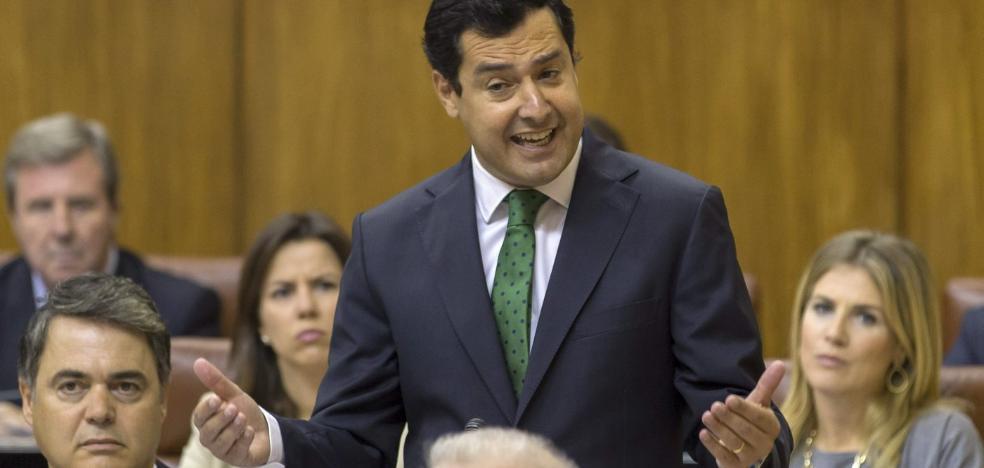 Moreno presume de que Rajoy envía 600 millones más a Andalucía