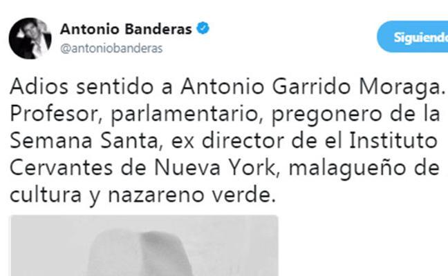 «Es una pérdida inmensa para Málaga, para Andalucía y para España». Las redes sociales despiden a Antonio Garrido