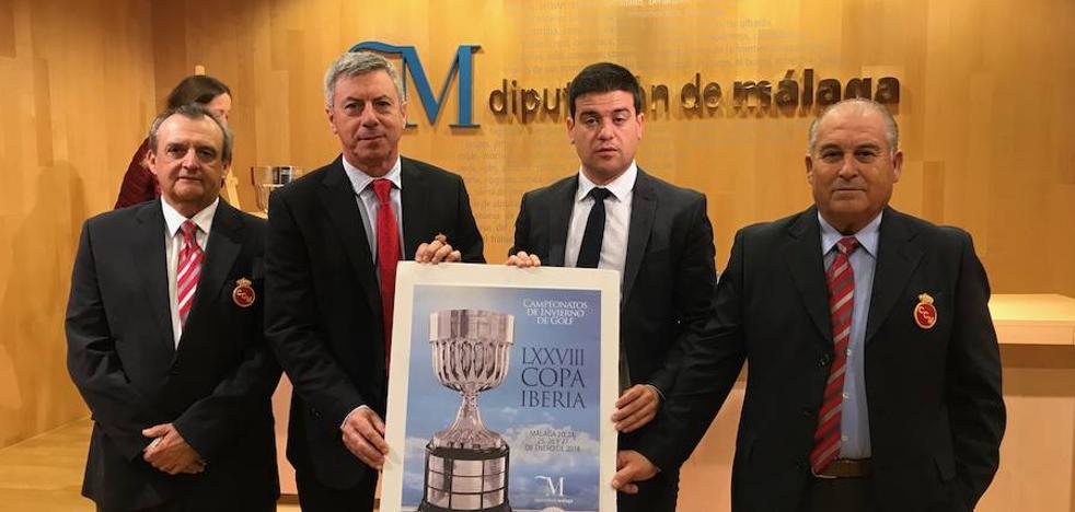 La Copa Iberia de golf acogerá a treinta y dos equipos