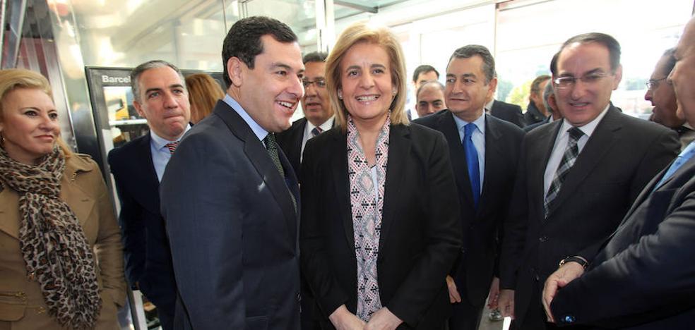"""Moreno considera """"un respaldo al PP-A"""" que la Convención Nacional se vaya a celebrar en Andalucía"""