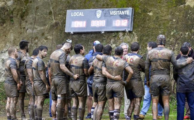 El Trocadero Marbella Rugby emerge victorioso del barro