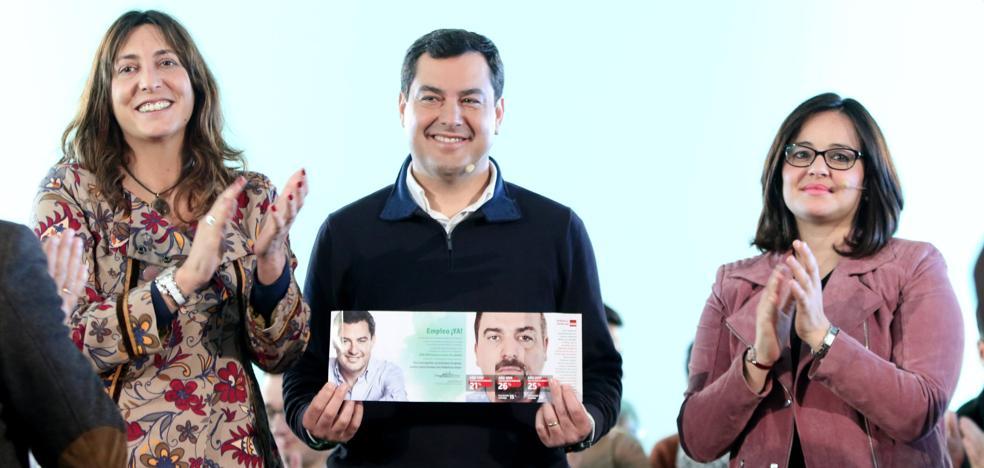 Moreno promete crear 600.000 empleos si es presidente de la Junta