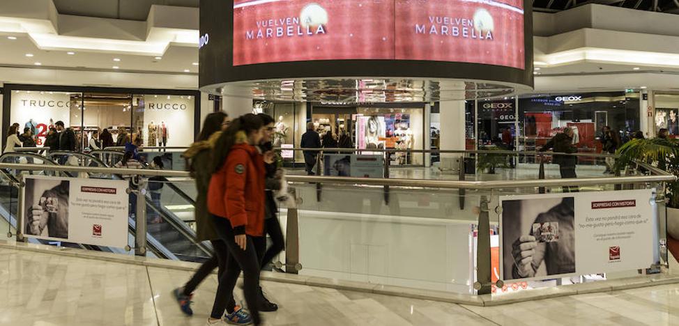 Marbella lanza en centros comerciales de toda España un vídeo promocional de la Copa Davis