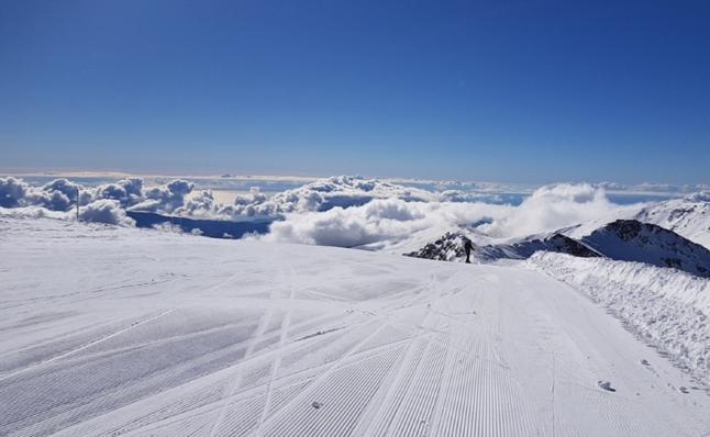 Un Día de la Nieve de más de 100 kilómetros