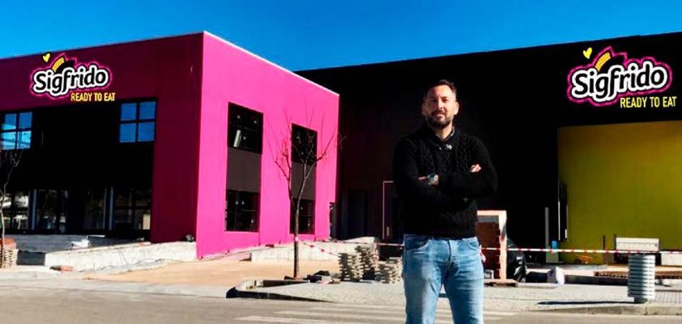 Sigfrido Fruit invierte dos millones de euros en una sede en el Tecnoalimentario de la Axarquía