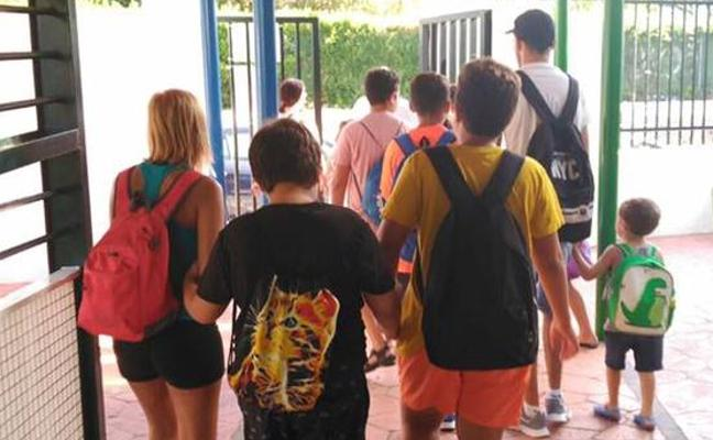 La AMPA del CEIP Salvador Rueda de Benalmádena pide más recursos para el aula de educación específica