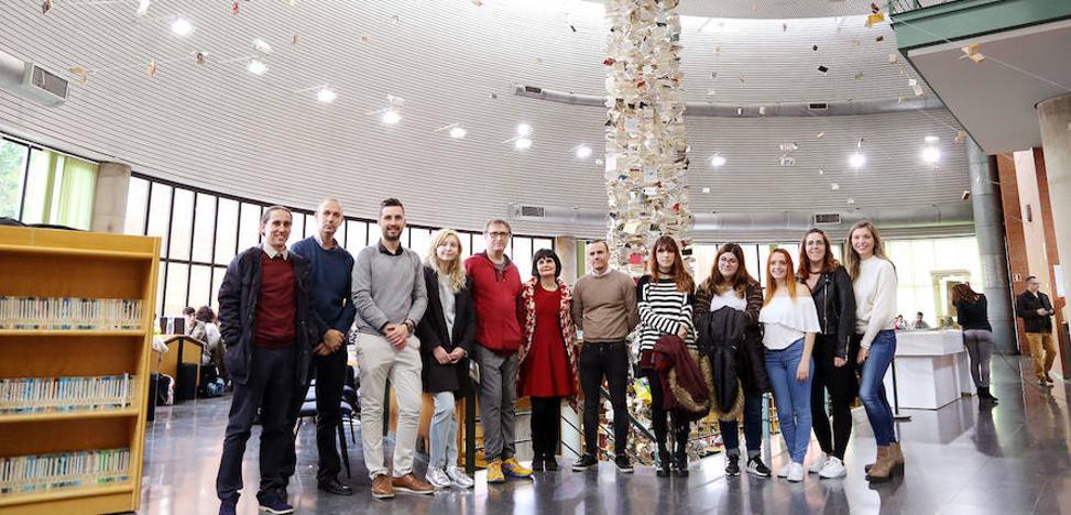 La Biblioteca General de la UMA presenta el proyecto artístico 'Biblioteca de Babel' de José Ignacio Díaz Rábago