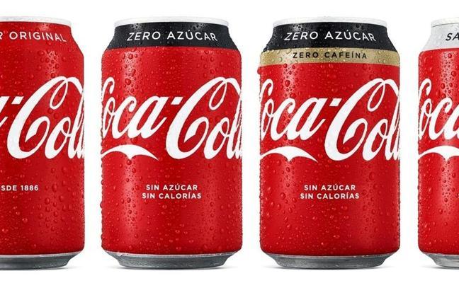 Coca-Cola cambiará todas sus latas en España y lanzará nuevo producto