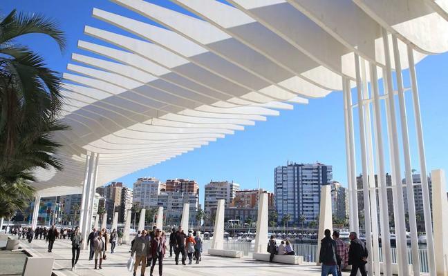 Málaga recibe el premio Ciudad Sostenible en la categoría de calidad del aire