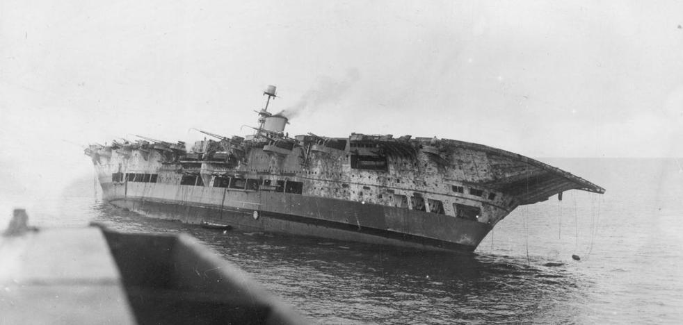 La II Guerra Mundial en Málaga: el hundimiento del portaaviones HMS Ark Royal