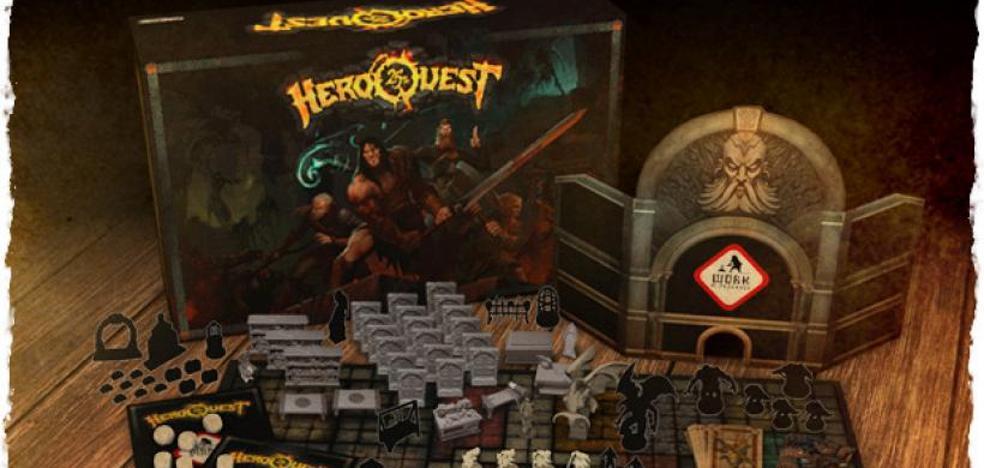 'Heroquest 25 Aniversario', el 'crowdfunding' del juego de mesa que dejó tiradas a cinco mil personas