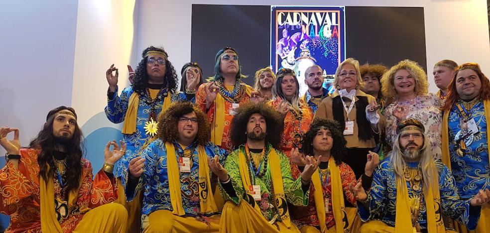 El Carnaval se vende en Madrid como la fiesta más cálida de Málaga