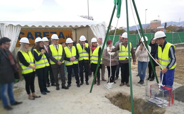 Arrancan las obras del nuevo instituto de Teatinos, que no estará el próximo curso