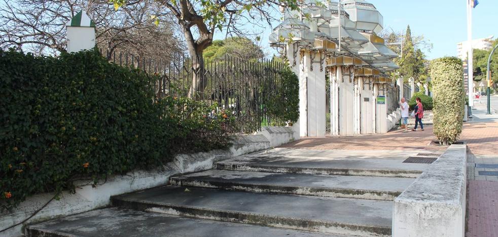 Vecinos y oposición critican la falta de mantenimiento del Parque de la Paloma