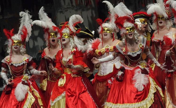 Fotos de la segunda jornada de preliminares del Carnaval de Málaga 2018
