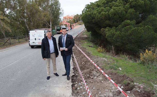 Mejora a la accesibilidad en Nueva Andalucía con actuaciones en dos avenidas