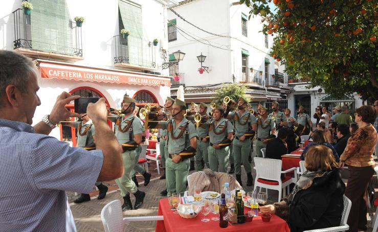 Marbella reúne hoy a las hermandades con vínculo legionario de España