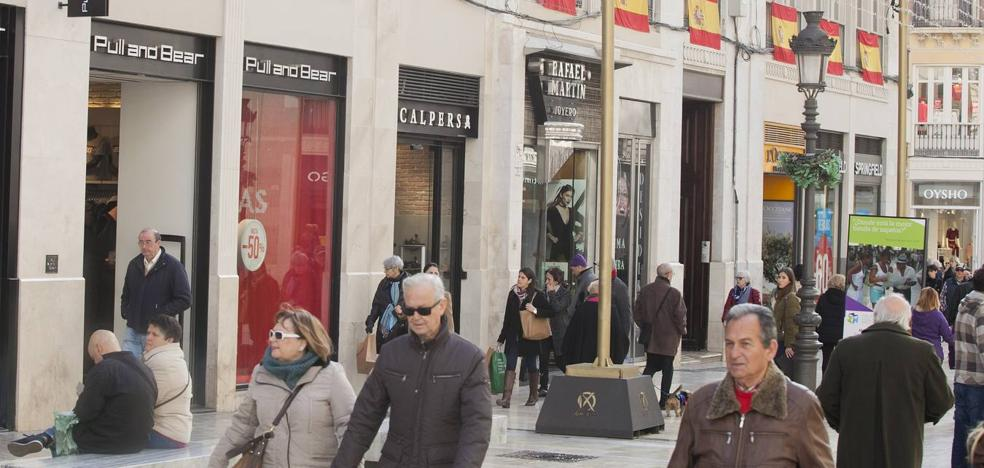 Crece el interés de marcas internacionales por tener presencia en el Centro de Málaga