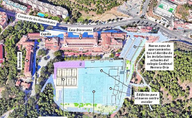 El Obispado proyecta la construcción de un gran colegio junto al Seminario