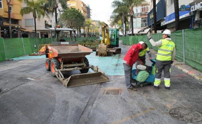 El PP reclama una revisión de tasas para los comercios afectados por las obras