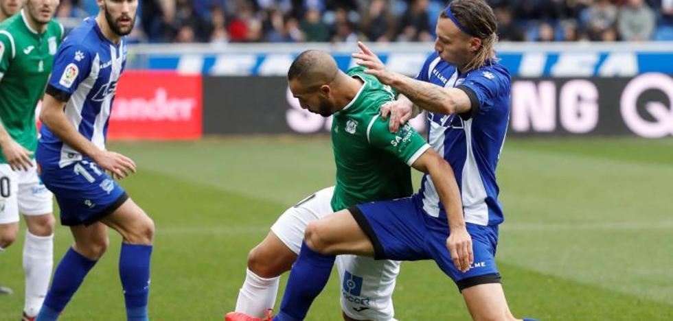 El Leganés rescata un punto en Mendizorroza en la recta final