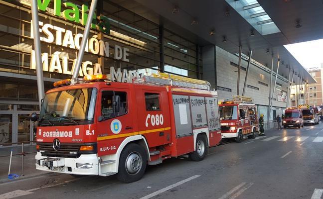 Sofocado un incendio en el supermercado de la estación Vialia