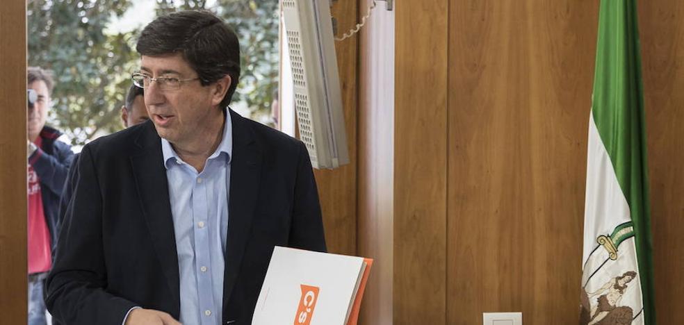 Juan Marín marca distancias con Susana Díaz