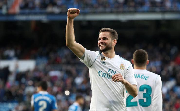 Los mejores momentos del Real Madrid-Deportivo, en imágenes