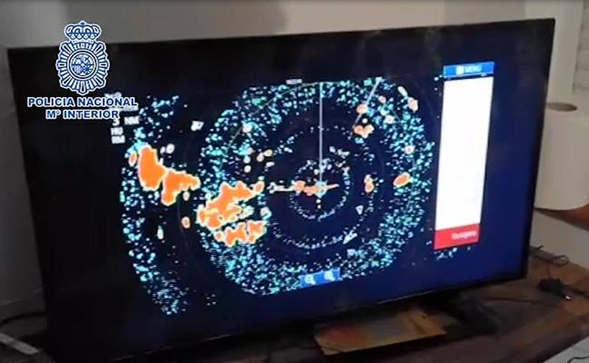 Desmantelan en Cádiz un sistema de radares usado por narcos para detectar la presencia policial