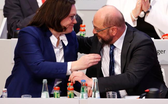 El SPD se resigna a la 'gran coalición'