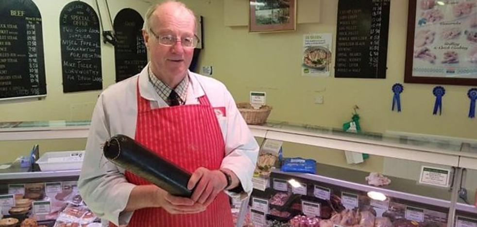 «La morcilla me salvó de morir congelado»: la disparatada aventura del carnicero de Devon