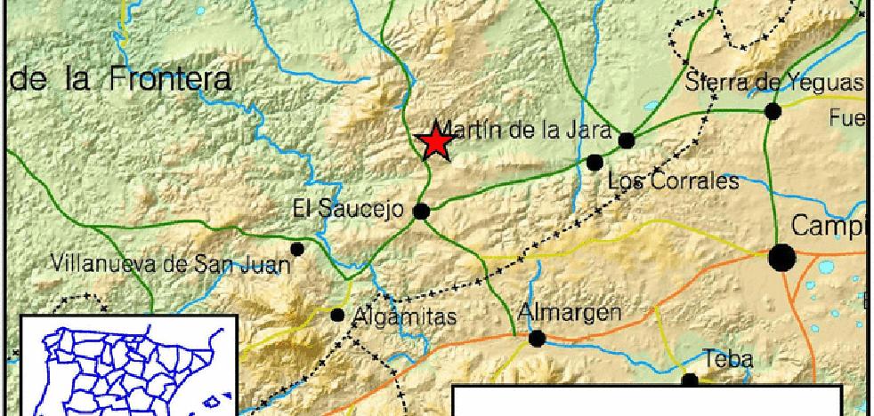 Tres terremotos en tres días se dejan sentir en la comarca norte de Málaga