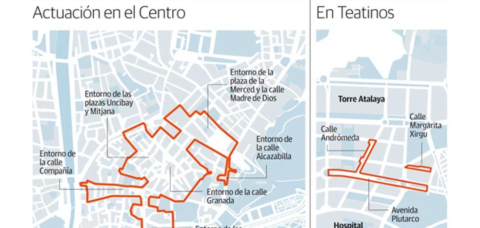 La prohibición de nuevos bares arrancará este año en las calles más ruidosas del Centro y Teatinos