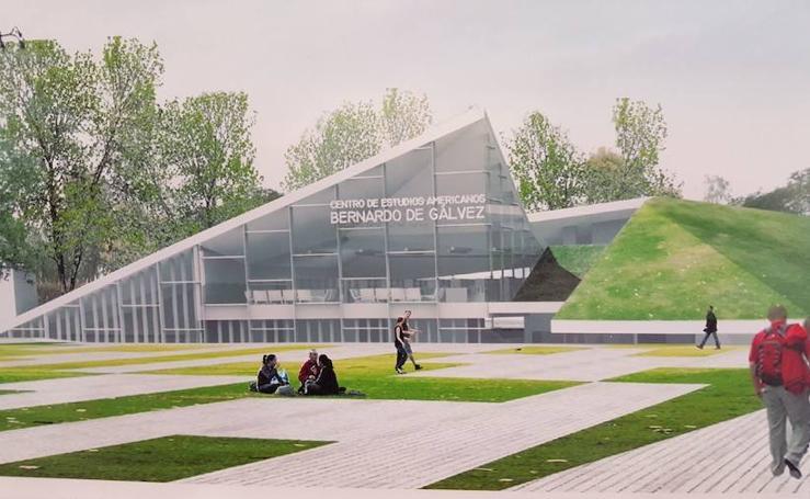 Así será el futuro Centro de Estudios Americanos Bernardo de Gálvez