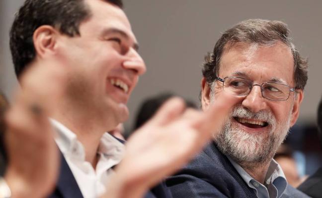 Rajoy reparte entre Sevilla y Málaga dos grandes actos nacionales del PP