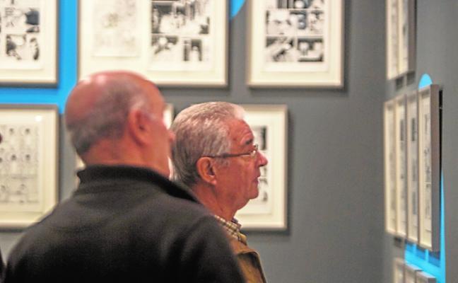 Salas de exposiciones que reúnen a artistas consolidados y noveles