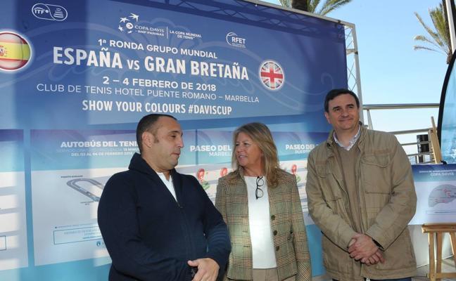 Marbella habilita 1.400 nuevas plazas de aparcamientos y líneas de bus gratuitas para acudir a la Copa Davis