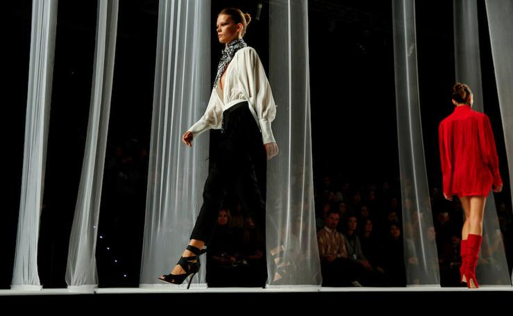 La primera jornada de la Mercedes-Benz Fashion Week Madrid, en imágenes