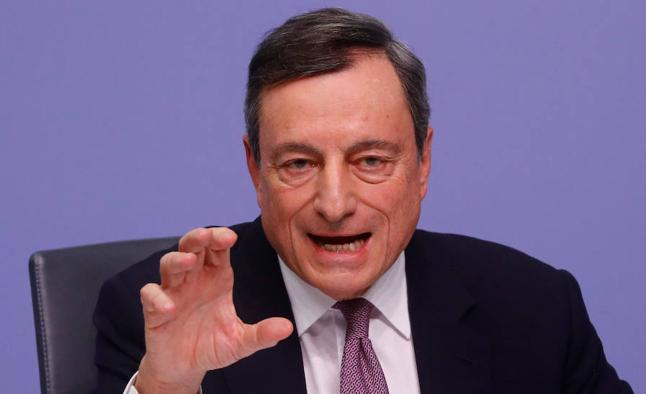 Draghi debilita al Ibex-35 pese a acelerar a la banca