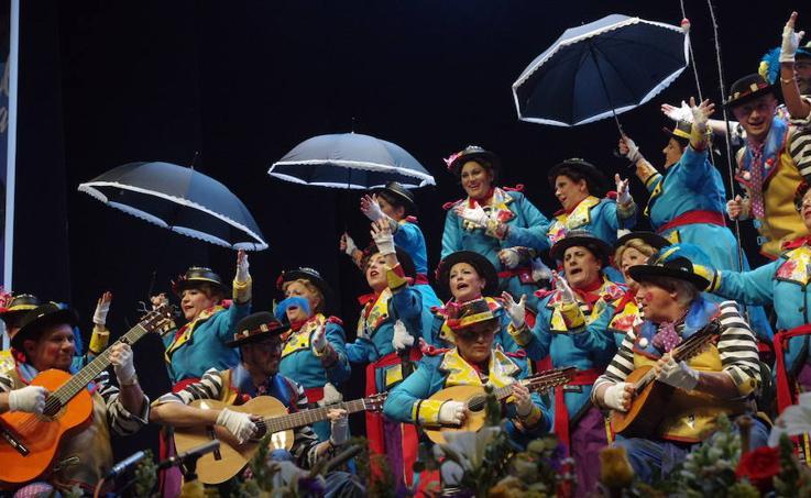 La décima y última preliminar del Carnaval de Málaga, en imágenes