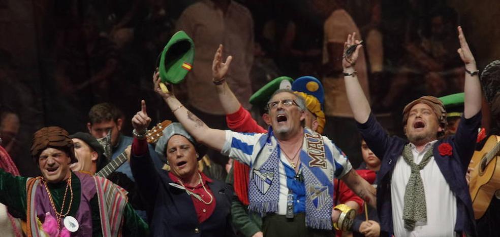 Trovadores, músicos y malaguitas brillan a las puertas de las semifinales