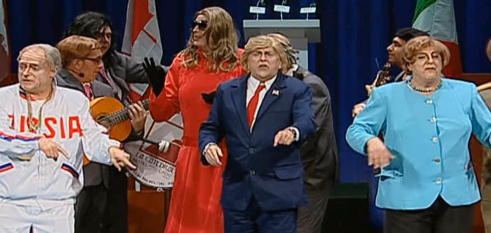 El Selu se mete en la piel de Donald Trump en 'Un grupo de guasa'