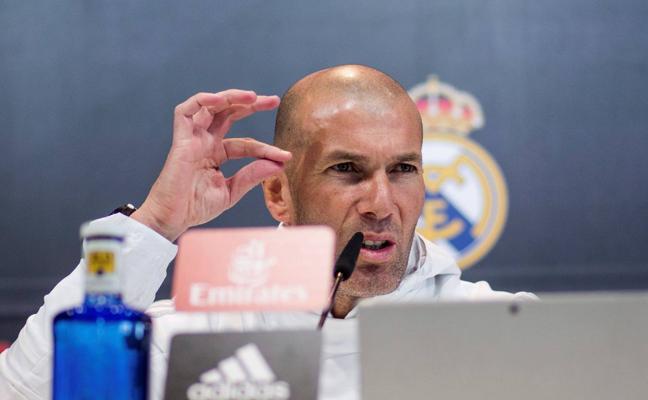 Zidane: «Claro que podemos ganar la Champions»