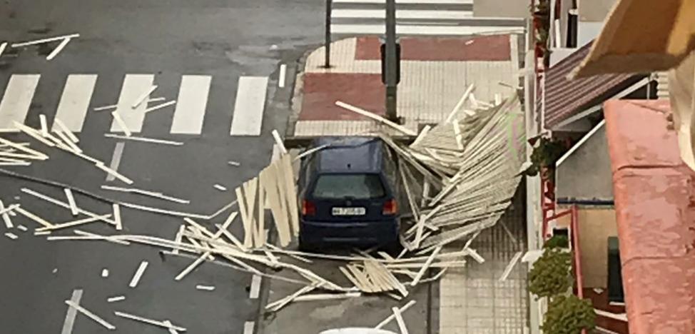 Málaga en aviso naranja por fuertes vientos y fenómenos costeros