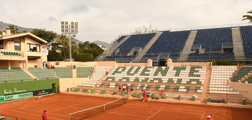 Marbella apunta al lleno en la Copa Davis