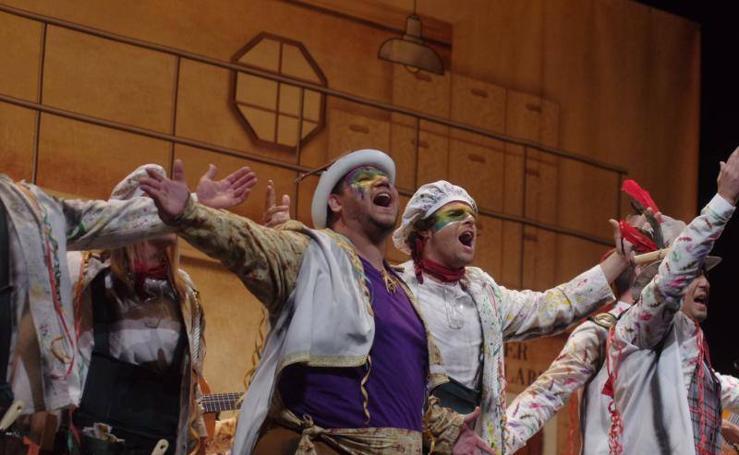 Fotos de la segunda semifinal del Carnaval de Málaga 2018