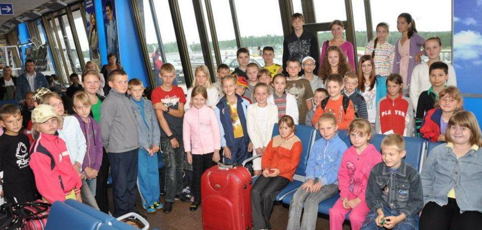 Famosos animan a acoger a niños de Chernóbil