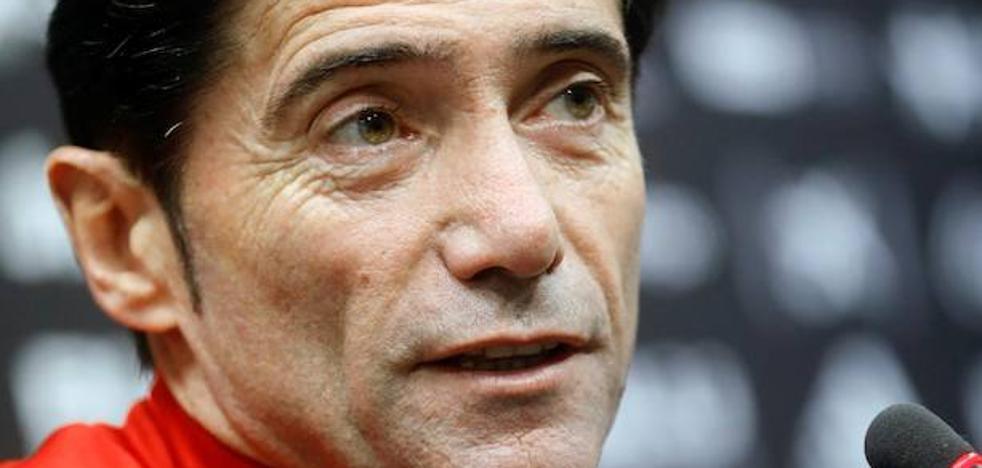 Marcelino: «Tenemos muchas bajas, pero buscaremos buen resultado para la vuelta»