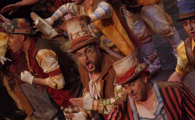 Grandes repertorios en la noche de los cuchillos largos del concurso de canto del Carnaval de Málaga 2018