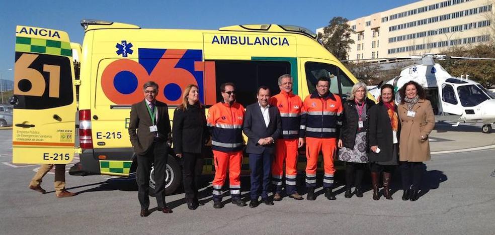 El 061 cumplen 25 años salvando vidas en Málaga